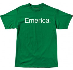 Emerica T-Shirt Pure 7.0 green/white
