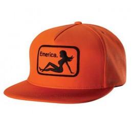 Emerica Cap INTERSTATE SNAPBACK Orange