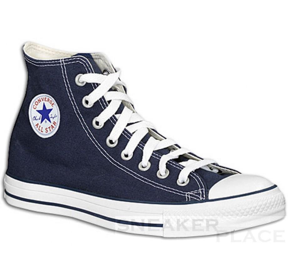 Converse Chucks Men All Stars Hi navy shoes