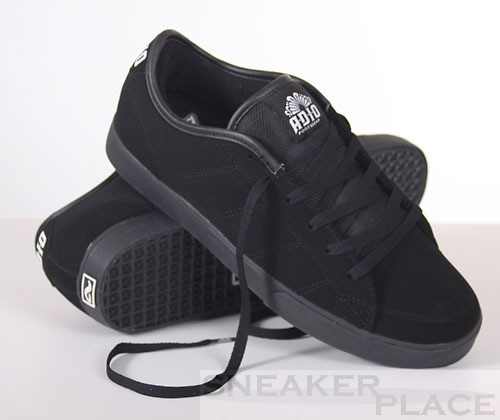 ADIO Drayton SL Men Black-black-white Shoes
