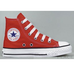 Converse Chuck Taylor AS Hi Kids red shoes