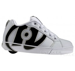 Heelys no Bones Lo White/Black - shoes with wheels