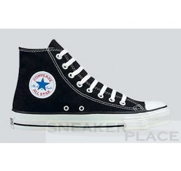 Converse Chuck Taylor All-Stars Hi black shoes