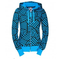 Jeml Zip Hooded Karla blue Horizon