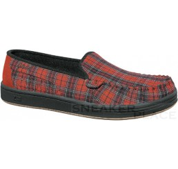 Globe Castro Red Plaid shoes