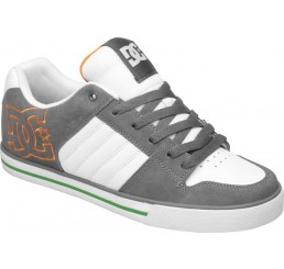 DC Chase shoes men white/grey/orange