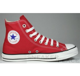 Converse Chuck Taylor All-Stars Hi red shoes