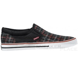 Globe Gotti G-Plaid shoes black/red