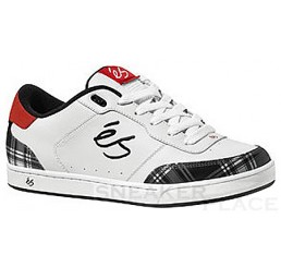 es shoes for men Leed white/red