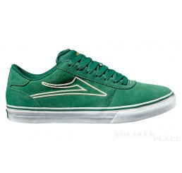 Lakai Manchester Select suede shoes green