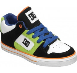 DC Radar kids shoes black/white/orange