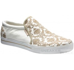 Emerica Ridgemont SMU white/tan shoes