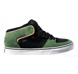 DVS Torey green suede shoes