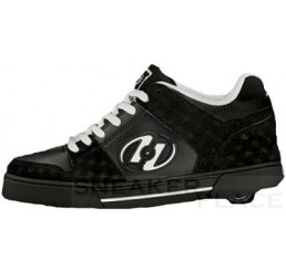 Heelys Trick - shoes with wheels black/white