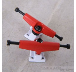 B-Low Fingerboard Trucks Stage-3 white/red